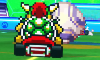 Super Mario Rocket League : quand Mario Kart rencontre Rocket League