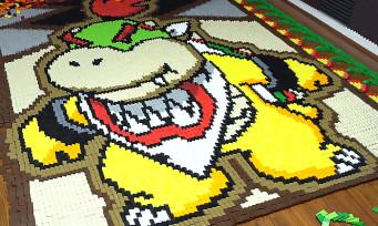 Nintendo : la vidéo de Bowser Jr. reproduit avec 23 400 dominos
