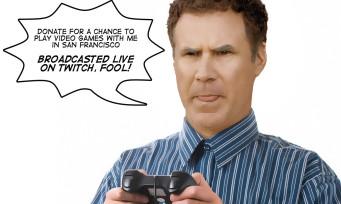 Twitch : Will Ferrell va jouer contre le cancer