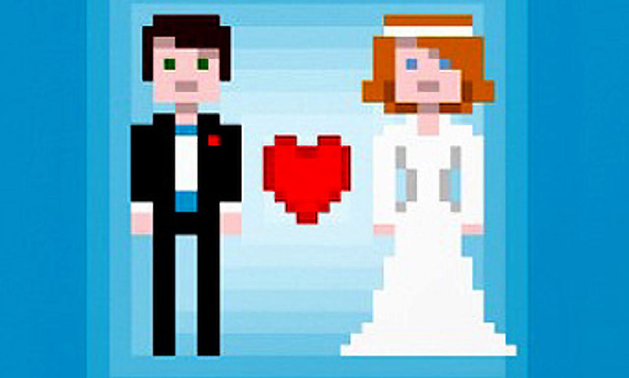 insolite il demande sa copine en mariage avec un jeu vid o. Black Bedroom Furniture Sets. Home Design Ideas