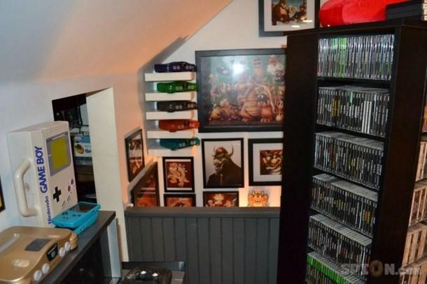 jeux vid o la chambre de r ve de tout gamer. Black Bedroom Furniture Sets. Home Design Ideas