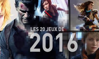 2016 : les 20 jeux qu'on guette comme des fous !