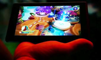 Nintendo Switch : l'écran tactile de la console en pleine action !