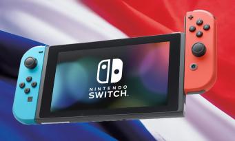 Nintendo Switch : les chiffres de ventes de la console en France