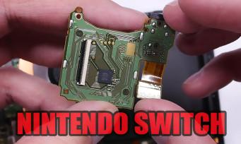 Switch : il démonte entièrement la console pour nous révéler ses entrailles