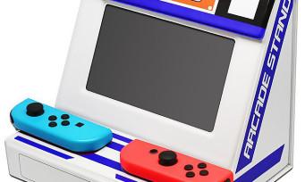 Nintendo Switch : la console se transforme en borne d'arcade