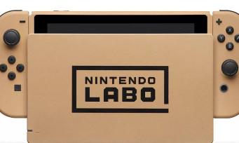 Une Nintendo Switch en carton customisée Nintendo Labo à gagner