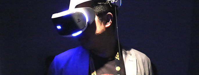 project morpheus on a test le nouveau casque et les nouveaux jeux ps4. Black Bedroom Furniture Sets. Home Design Ideas