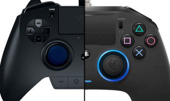 PS4 : trailer de la manette pro gaming Nacon Revolution et Razer Raiju