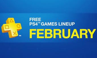 PlayStation Plus : la liste des jeux de février 2017