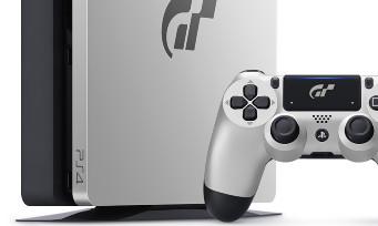 PS4 Slim : trailer de la console collector Gran Turismo Sport