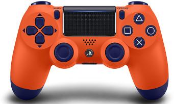 PS4 : toutes les images de la manette Sunset Orange
