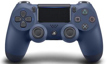 PS4 : toutes les infos sur les manettes Steel Black et Midnight Blue