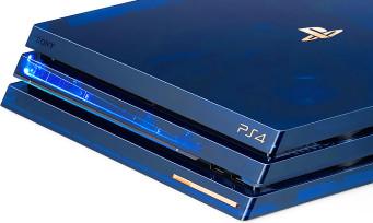 PS4 Pro 500 Million Limited Edition : voilà comment l'acheter