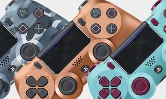 PS4 : trois nouvelles DualShock 4 pour les collectionneurs