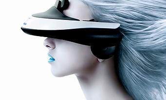 ps4 le casque de r alit virtuelle de sony. Black Bedroom Furniture Sets. Home Design Ideas