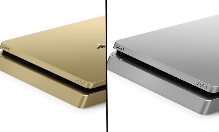 ps4 slim silver toutes les photos officielles de la console. Black Bedroom Furniture Sets. Home Design Ideas