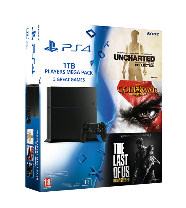 ps4 un nouveau pack avec 3 jeux en approche au royaume uni. Black Bedroom Furniture Sets. Home Design Ideas