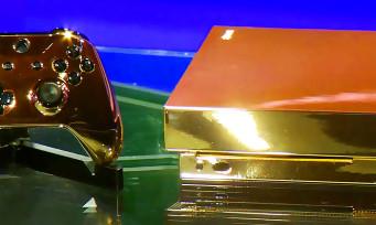 Microsoft a créé une Xbox One X en Or 24 carats, la voici en vidéo
