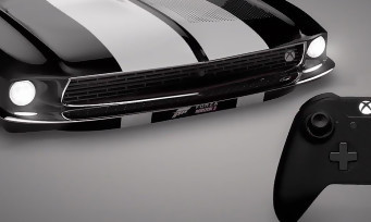 Xbox One S : trailer de la console Ford Mustang avec manette en cuir