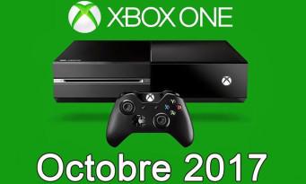 Xbox One / Xbox 360 : voici la liste des jeux gratuits d'octobre