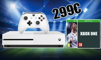 Cyber Monday : Xbox One S 1To + 2 manettes + FIFA 18 à 299€