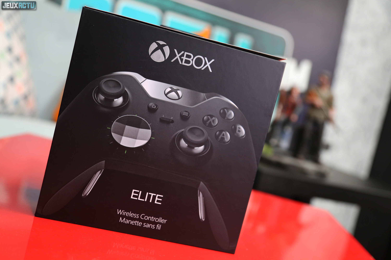 Xbox one elite controller notre unboxing de la superbe for Manette xbox one elite black friday