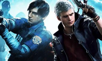 Capcom : la société entend vendre beaucoup de Resident Evil 2 et Devil May Cry 5