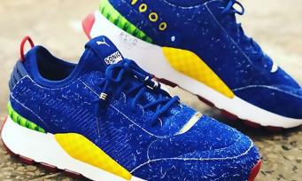 Sonic X Puma : toutes les infos sur les baskets collectors