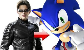 Sonic le film : Cyclope de X-Men incarnera le hérisson bleu, tout va bien