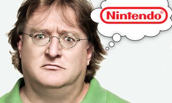 Valve : Gabe Newell est jaloux de Nintendo et promet des jeux