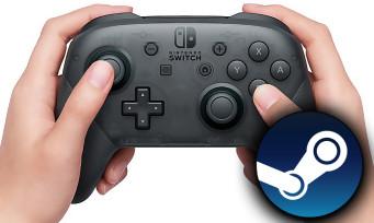 Nintendo Switch : voilà comment utiliser la manette Pro sur Steam