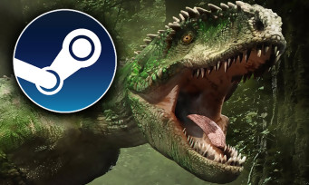 Charts Steam : Jurassic World Evolution s'empare de la première place