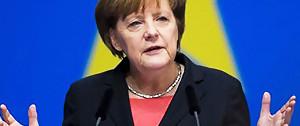 gamescom 2017 : la chancelière Angela Merkel présente au salon