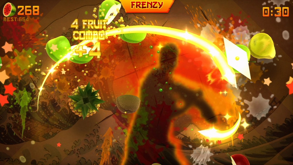 Fruit Ninja test