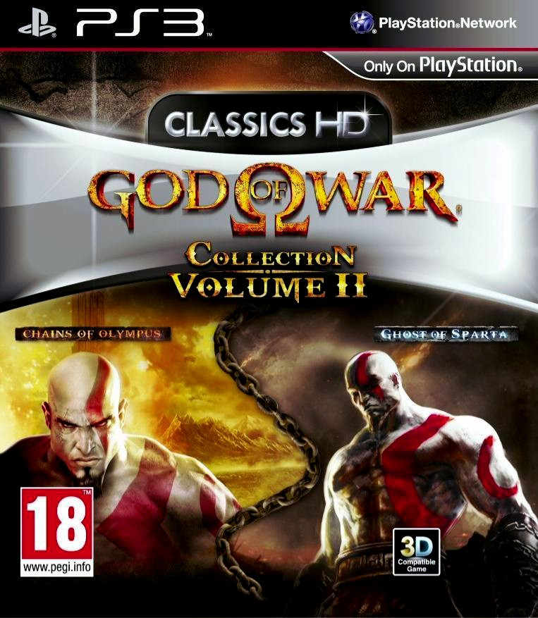 God of War Collection Volume 2 - PS3 (Exclue)