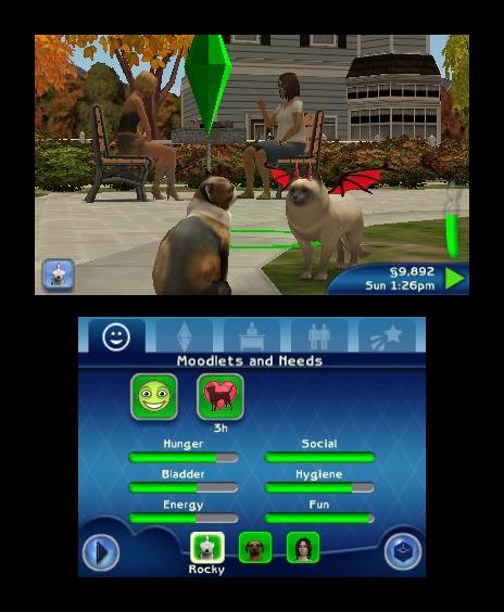 Sims 3 Pets : trailer de la gamescom