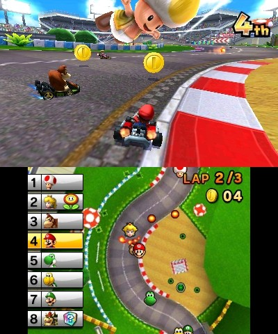 mario kart 3ds. Black Bedroom Furniture Sets. Home Design Ideas