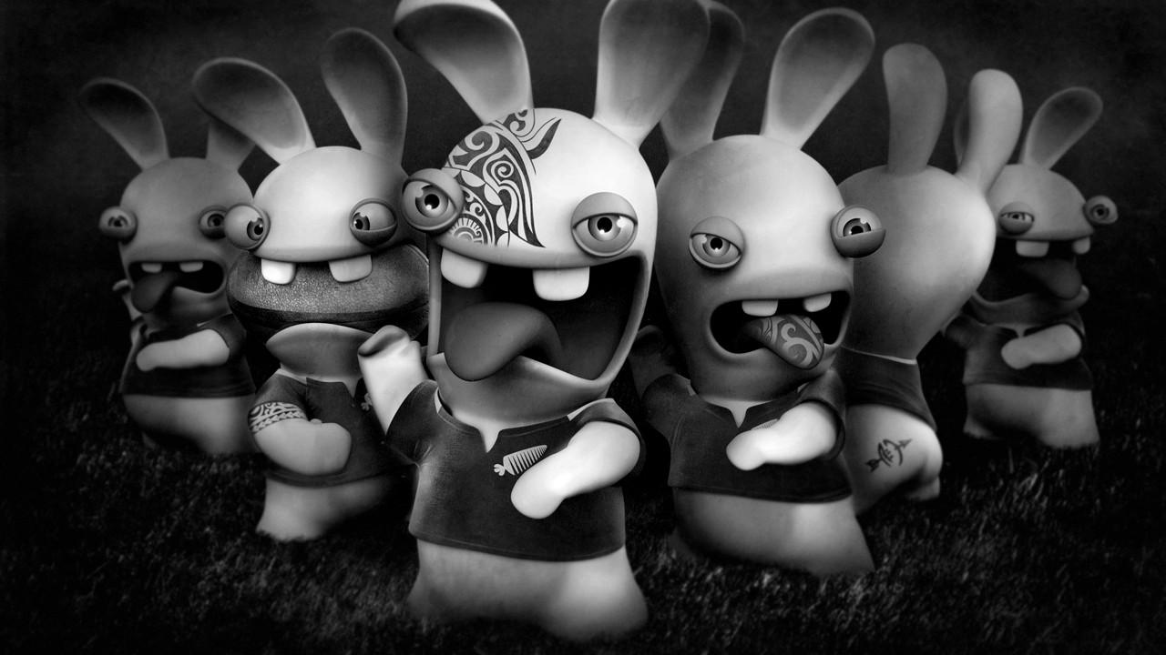 Les lapins cr tins partent en live en vid o - Lapin cretin image ...