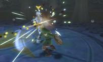 Ghirahim mène la vie dure à Link dans le jeu
