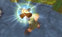 Grâce à ces gants magiques, Link est capable de creuser dans le sol