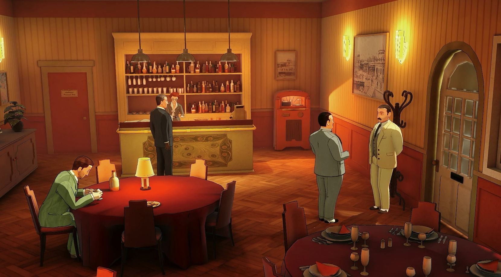 agatha christie the abc murders trailer de gameplay sur ps4. Black Bedroom Furniture Sets. Home Design Ideas