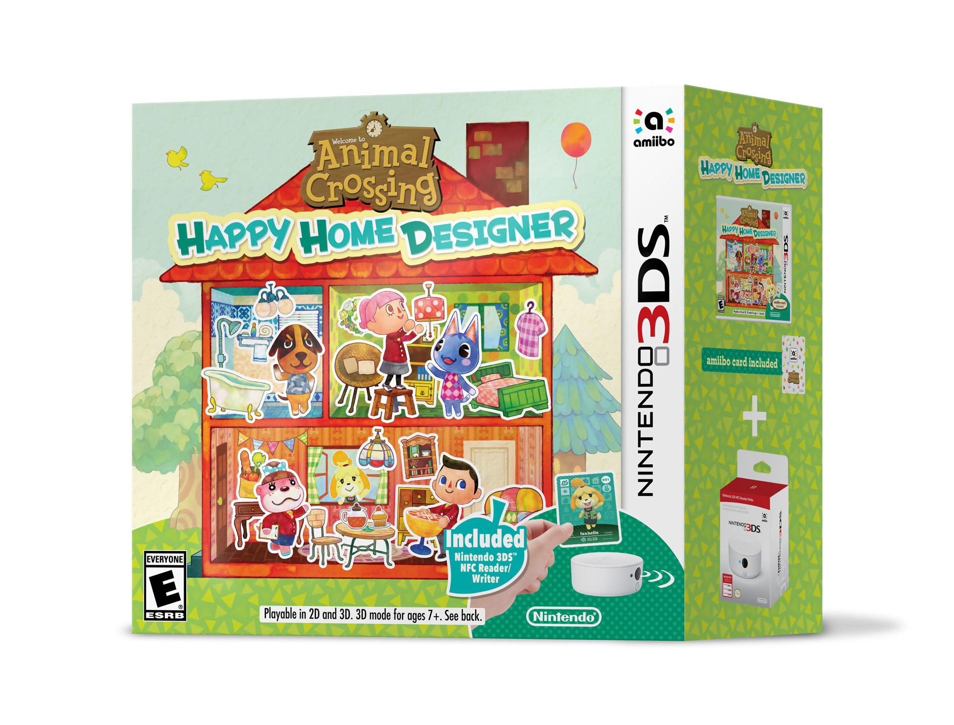 Animal Crossing Happy Home Designer : un bundle New 3DS arrive aux