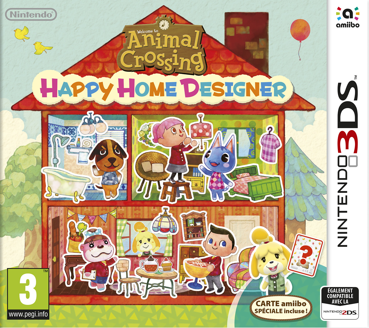 Animal Crossing Happy Home Designer : découvrez le trailer de