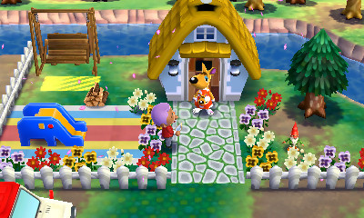 partir de là, tout l39;intérêt d39;Animal Crossing Happy Home Designer