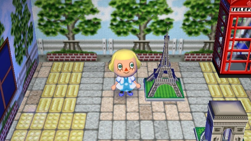 Tour eiffel animal crossing let 39 s go to the city - Coupe animal crossing wii ...