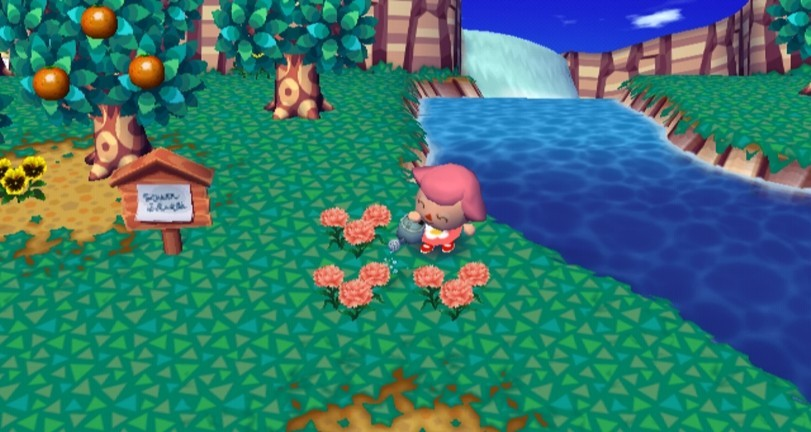 Test animal crossing let 39 s go to the city for Extension maison animal crossing wild world