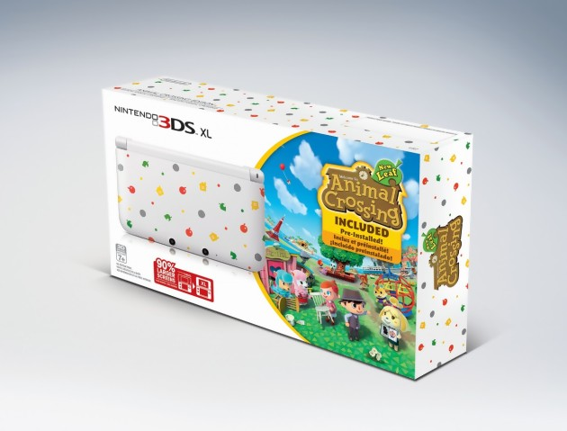 Animal crossing new leaf la 3ds xl collector arrive en - Animal crossing new leaf consoles ...