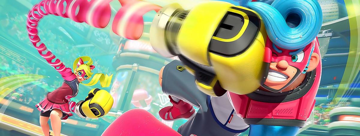 Test ARMS sur Nintendo Switch : un jeu qui met des droites ?