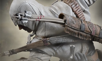 Assassin's Creed 3 : une nouvelle figurine de Connor pour les collectionneurs